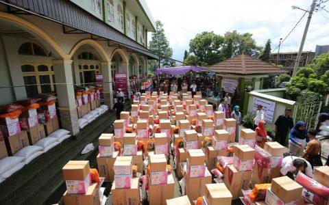 Yayasan Ash Shilah Salurkan Bantuan untuk Korban Banjir Garut