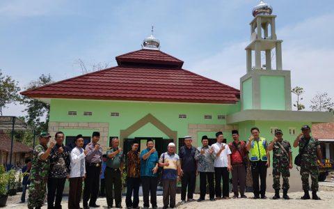 Peresmian Masjid Abdurahman bin Auf Rodiallahuanhu No Program 49970 bantuan dari Sheikh Eid Chairtable – QATAR