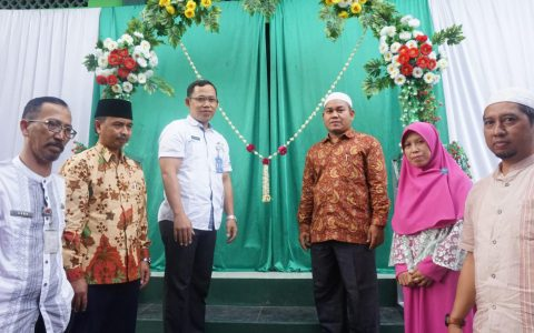 Bantuan Pembangunan Masjid Hayaa Ahmad Untuk SDN 02 Tengklik Tawangmangu