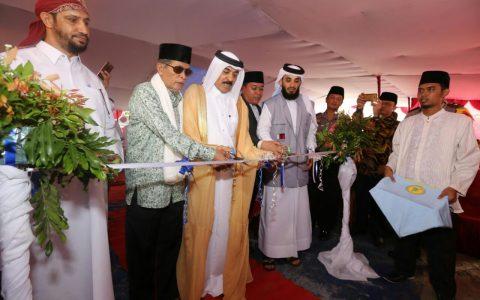 """Delegasi """"Ar Rahmah"""" Meresmikan Masjid dan Madrasah Ummul Mukminin 'Aisyah"""