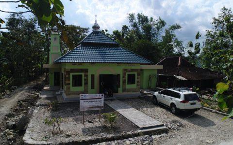 Yayasan Ash Shilah Membangun Masjid Abu Bakar Asiddiq RA di Gunungkidul