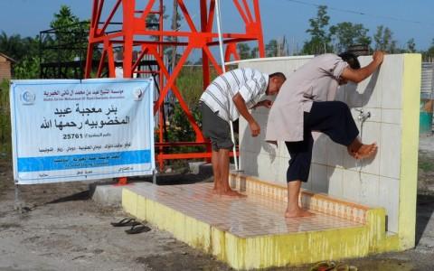 Galeri – Atasi Kekeringan, Yayasan Ash-Shilah Bantu 20 Sumur Bor Untuk Masyarakat Dumai