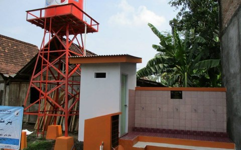 Yayasan Ash-Shilah Bantu 30 Sumur Bor Untuk Warga Grobongan, Jawa Tengah