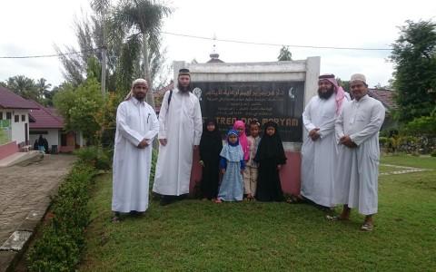 Kunjungan Yayasan Syaikh Eid ke Ponpes Dar Maryam, Aceh