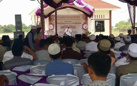 Syaikh Ali Al Sa'dy Hadiri Peresmian Markaz Tahfizh di Indramayu